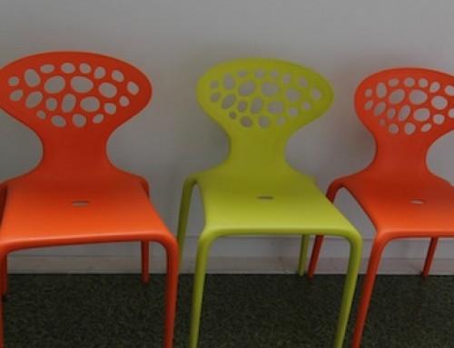Rangée de chaises